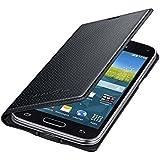 Samsung Original Etui Portefeuille pour Samsung Galaxy S5 Mini - Noir