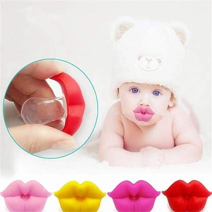 Chupete para bebés, Enjoyfeel Recién Nacido Chupete de silicona para ...