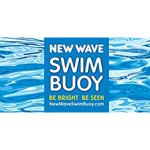 New Wave Swim Towel Beach Blanket (Blue)