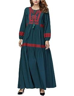 Femme Priere Caftan Vêtement Zhxinashu Musulmane Jalabiya Abaya SzqMpGUV