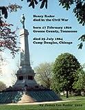 Henry Rader died in the Civil War, James L. Rader, 0557282195