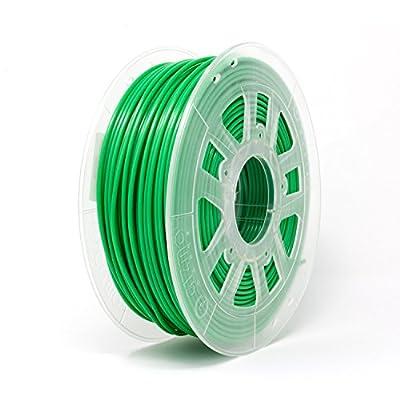 Gizmo Dorks 3mm (2.85mm) PLA Filament 1kg/2.2lb for 3D Printers, Green Grass