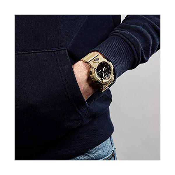 Casio Reloj Analógico-Digital para Hombre Correa en Resina GBA-800UC-5AER 5