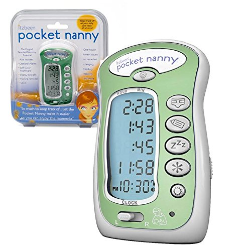 Itzbeen Pocket Nanny Baby Care Timer (Green)