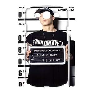 3D Stevebrown5v Eminem Samsung Galaxy S3 Cases Eminem Aka Slim Shady, Eminem [White]