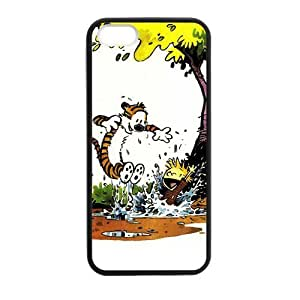 Calvin and Hobbes Diving for Case For Htc One M9 Cover protective Durable black case