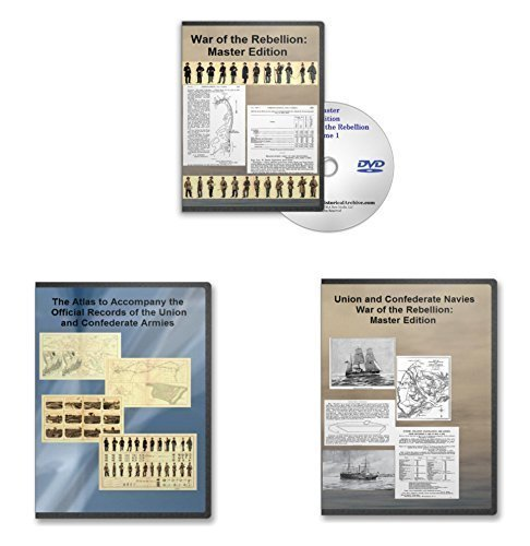 Read Online Master Edition War of the Rebellion Four DVD Combo Set: Army OR, Navy OR Plus War of the Rebellion Army Atlas pdf epub