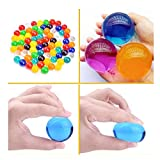 Large Water Gel Beads 3oz Pack, Growing Balls Jelly Crystal Soil For Kids Tactile Toy and Vase Filler 100 Pcs