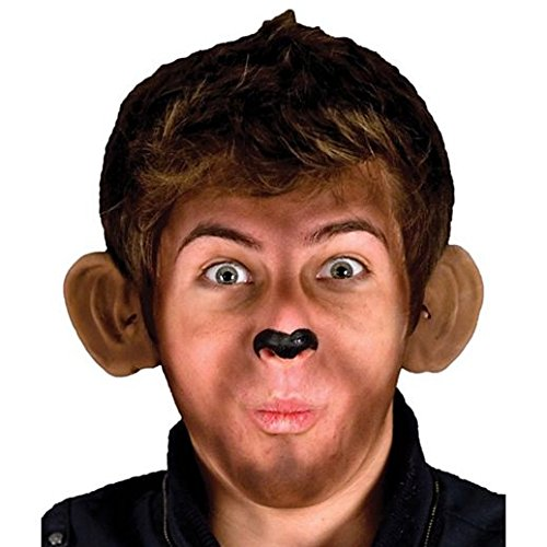 Fancy Face Paint Color Halloween Monkey Ears]()