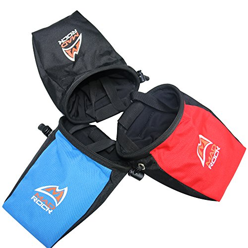 World Sporter Mountain Rock Climber Addict Chalk Bag Pouch for Closure Outdoor Climbing Caving