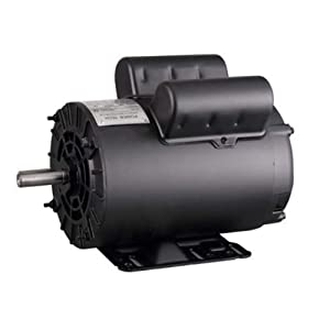 5HP SPL 3450 RPM P56 Frame Air Compressor 60Hz 208-230 Volts Single Phase Electric Motor