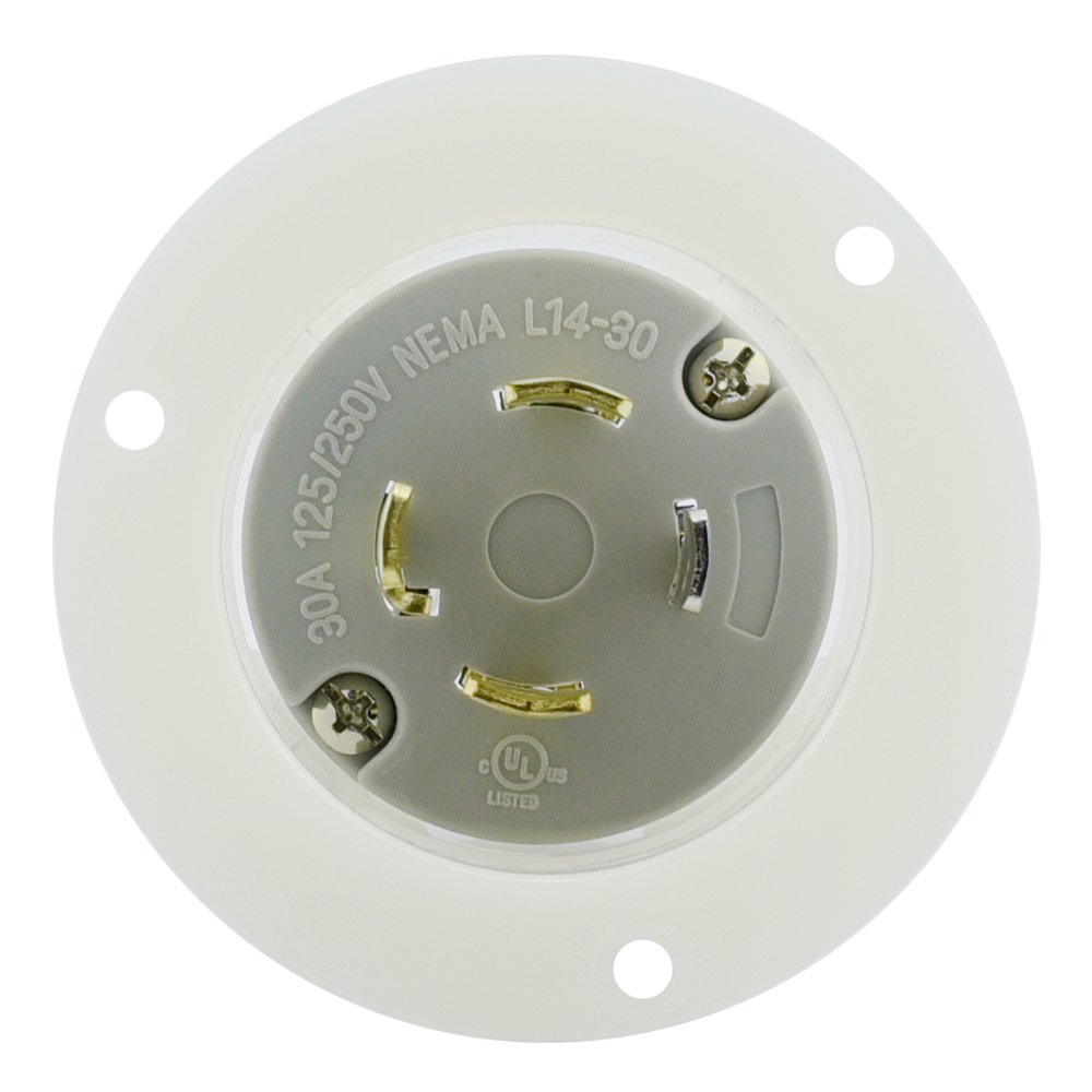 Cllena Nema L14 30 Female Plug 3 Pole 4 Wire Amp 125 250 Volt Wiring A L1430