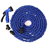 TELLM 3 times stretch pipe for telescopic garden watering tool water gun set stretched 30m