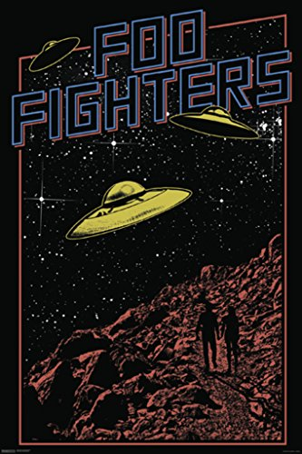 Foo Fighters Poster Print (24 x 36) - Band Poster Print