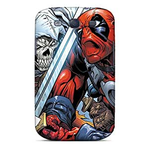 New Style Tpu S3 Protective Case Cover/ Galaxy Case - Deadpool I4