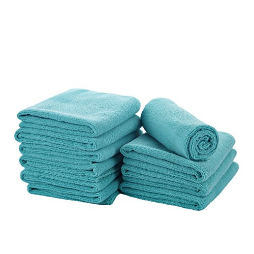 Car Wash Microfiber Drying Towels are Perfect for Auto Detailing, Car Polishing - SUPER DECONTAMINATION and HIGH ABSORBENT- Cleaning Cloths Set Clean Without Chemicals, Pack of 5, 12 x 16-Inch ...