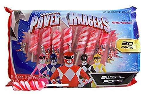 Power Rangers Swirl Lollipops, 20 -