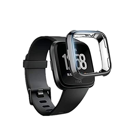 Amazon.com: Case for Fitbit Versa Smart Watch Case, Clear ...