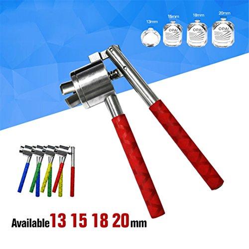 Manual Vial Crimper 13Mm 15Mm 18Mm 20Mm Spray Bottle Sealing Machine Cap Capper Bottle Cap Crimping Capping Tools (Cap Kit Stapler)