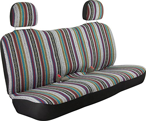 (Bell Automotive 56259-8 Baja Blanket Seat Cover - Bench)