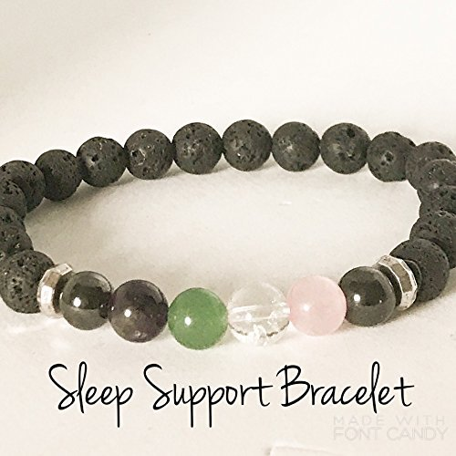 Sleep Support Aromatherapy Diffuser Bracelet