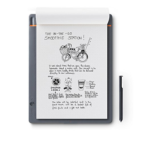 Wacom Bamboo Slate Digital Notepad A4 (Letter Size) – Large Smart...