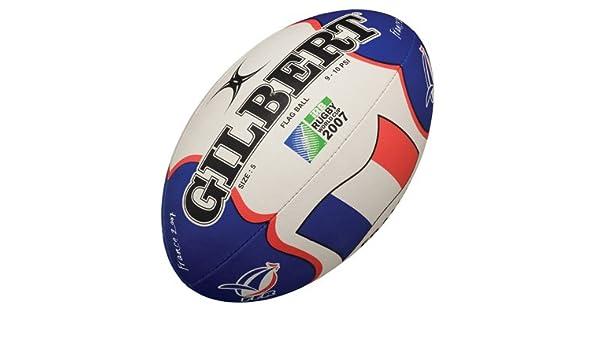 Gilbert - Balón de rugby (tamaño pequeño, diseño de la selección ...