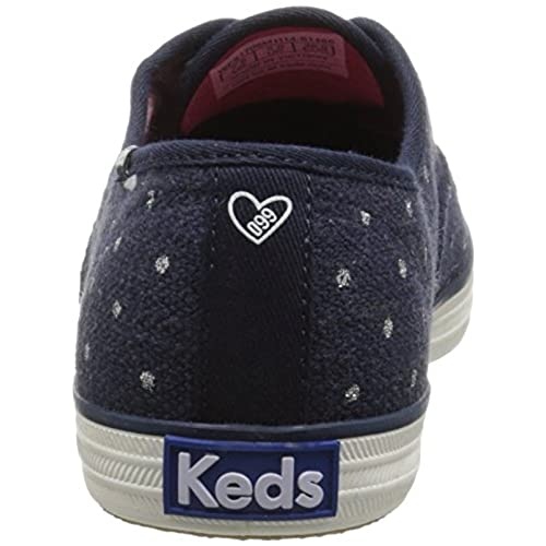 3d81cd1883229 low-cost Keds Women s Taylor Swift s Champion Linen Glitter Dot Sneaker