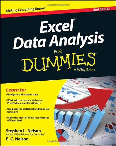 Excel Data Analysis For Dummies, 2nd Edition Front Cover