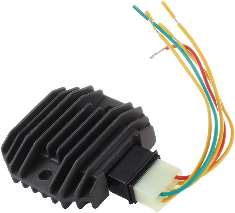 SELEAD Voltage Regulator Rectifier Fit for 2009-2013 Yamaha FZ6R 2008-2013 Yamaha WR250R 1999-2001 Yamaha YZF R1 1999-2012 Yamaha YZF R6 RRV-A033