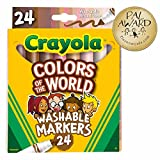 Crayola Colors of The World Markers 24