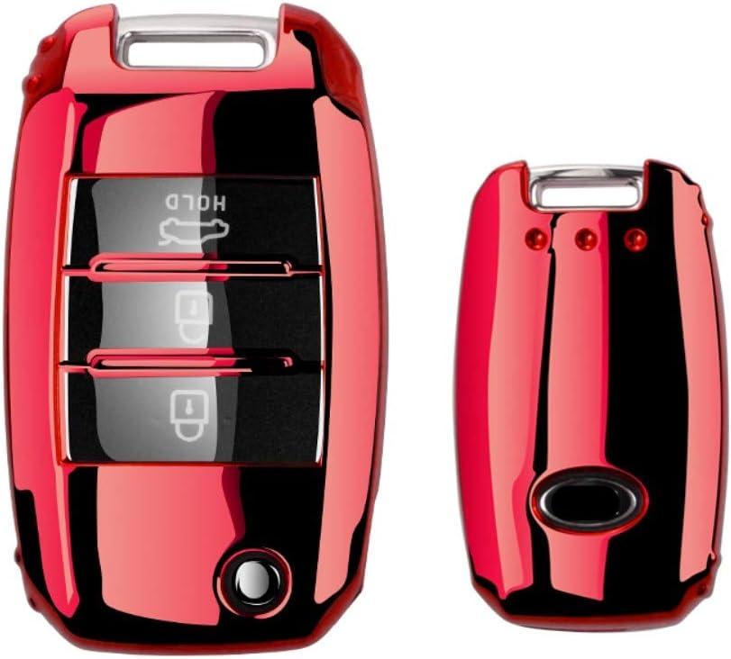 pour Kia Rio QL Sportage Ceed Cerato Sorento K2 K3 K4 K5 DIUxcj /Étui pour cl/é de Voiture