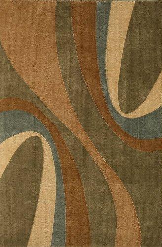 Torino Rug Collection (Rugs America Contemporary Rectangle Area Rug 2'x2'11
