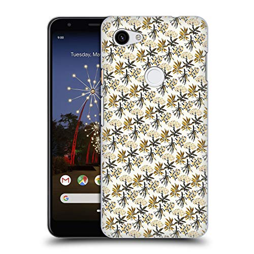Official Pom Graphic Design Herbal Apothecary Patterns Hard Back Case Compatible for Google Pixel 3a XL ()