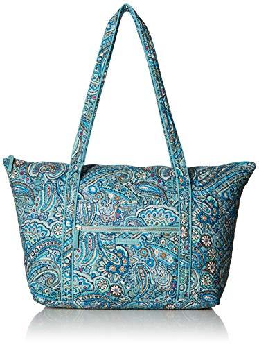 Vera Bradley Women's Signature Cotton Miller Travel Bag, Daisy Dot Paisley, One Size (Paisley Bag Weekender)