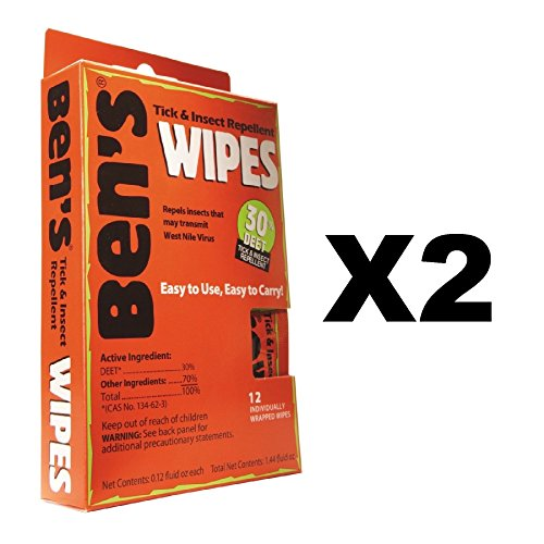 Tender Bens 12 count Travel Wipes product image
