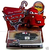 Disney Cars Toon Rescue Squad Trooper Die Cast Car by Mattel