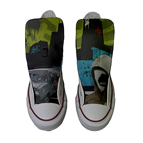 Graffiti Adulte Chaussures Artisanal Coutume Street mys Customized Converse Produit wp0FaWZqBx