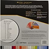 Lee Filters Master Location Pack, 36 Sheet Pack of Pre-cut 10 x 12 inches for Color Correcting, Light Shaping Tools & Color Effects Lighting Filters