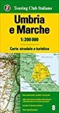 img - for Umbria and the Marches, Italy : Road and Tourist Map (English and Italian Edition) book / textbook / text book