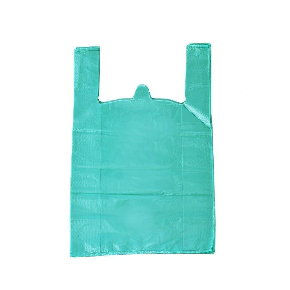 人気が高い lazyme B06Y5SHTKH 12 レイクブルー x 20インチプラスチックThickブルーTシャツバッグ、ショッピングバッグハンドルバッグ、商品、multi-use大きいサイズブルーPlain 12 Groceryバッグ、耐久性、200個200、湖ブルー) B06Y5SHTKH レイクブルー, 【ふるさと割】:e694d896 --- 4x4.lt