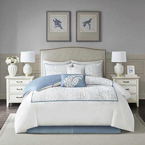 Blue Harbor House - Harbor House Boxton Comforter Set, Blue