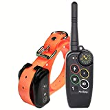 Training Dog Collar - PetSpy Premium Dog Training Shock Collar for Dogs with Vibration, Shock and Beep, Rechargeable and Waterproof E-Collar - Best Remote Trainer