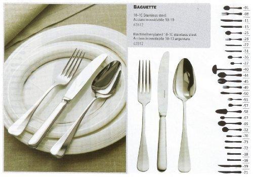 PADERNO - Dessert spoon Baguette Inox