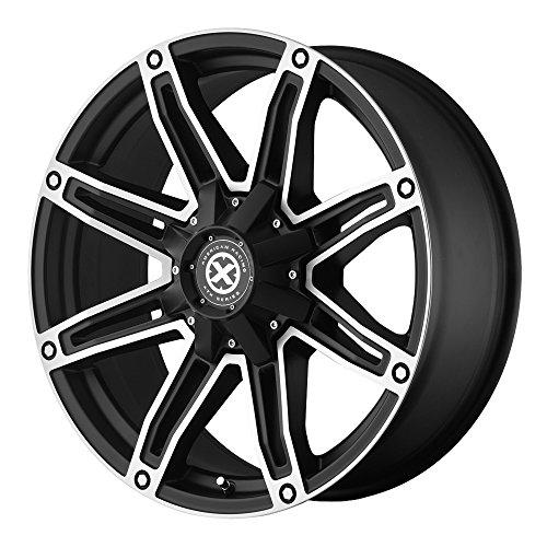 Racing Satin - American Racing ATX AX193 Wheel with Satin Black Machined (18x8.5