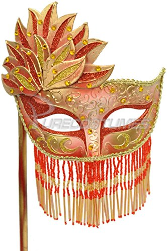 Bellisima Festa Mask (Red/Gold)]()