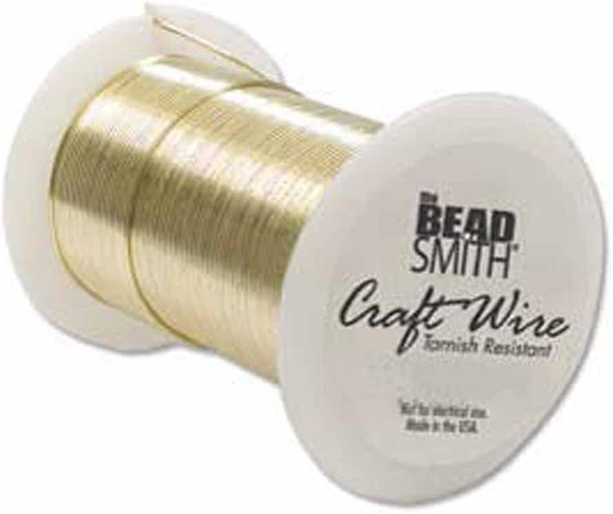 Craft Wire Silver Plated Tarnish Resistant 24 Gauge 30 Yard 2 Pack