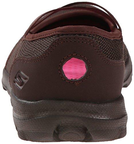 Skechers Prestanda Womens On-the-go Punkten Walking Sko Choklad