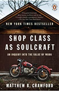 Shop Class as Soulcraft: An Inquiry Into the Value of Work price comparison at Flipkart, Amazon, Crossword, Uread, Bookadda, Landmark, Homeshop18
