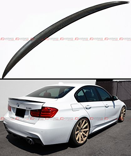 Cuztom Tuning Carbon Fiber Performance Style Trunk Spoiler Wing FIts for 2013-2018 BMW F30 328i 335i M3 F80